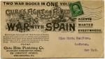 米国・米西戦争関連書籍宣伝カバー