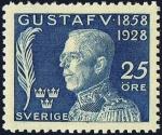 スウェーデン・グスタフ5世70歳