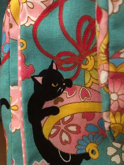 黒猫 着物 リカ (1)
