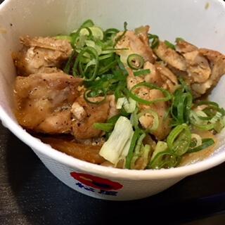 松屋 鶏のバター醤油炒め定食