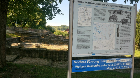 古代ローマ別荘跡1
