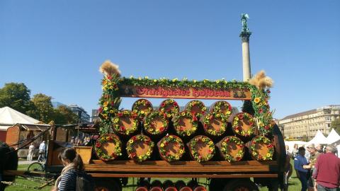 Stuttgarter-Hofbräuの樽
