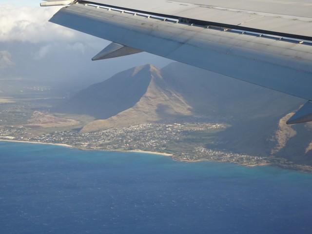 1月19日 オワフ島急峻な山