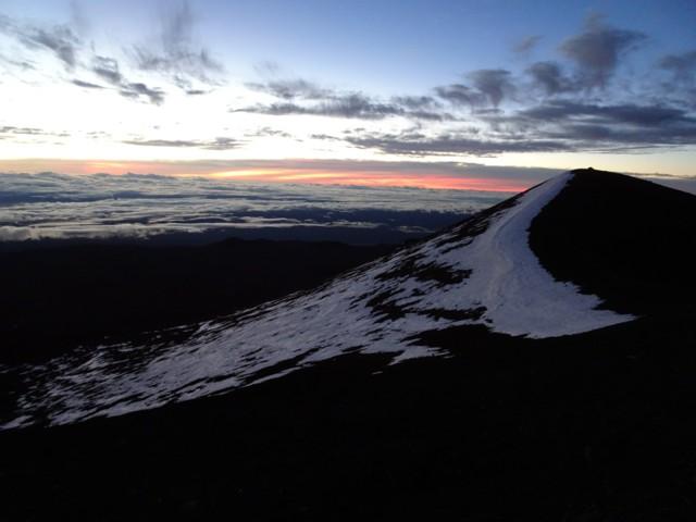 1月20日 マウナ・ケア山頂