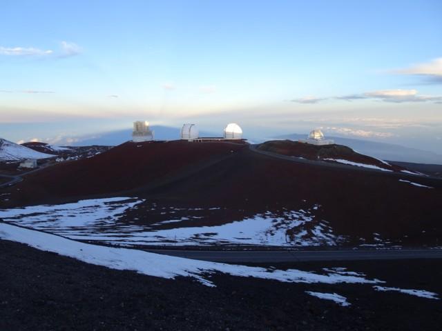 1月20日 日本のすばる望遠鏡