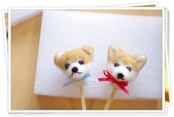 s-秋田犬の耳かき